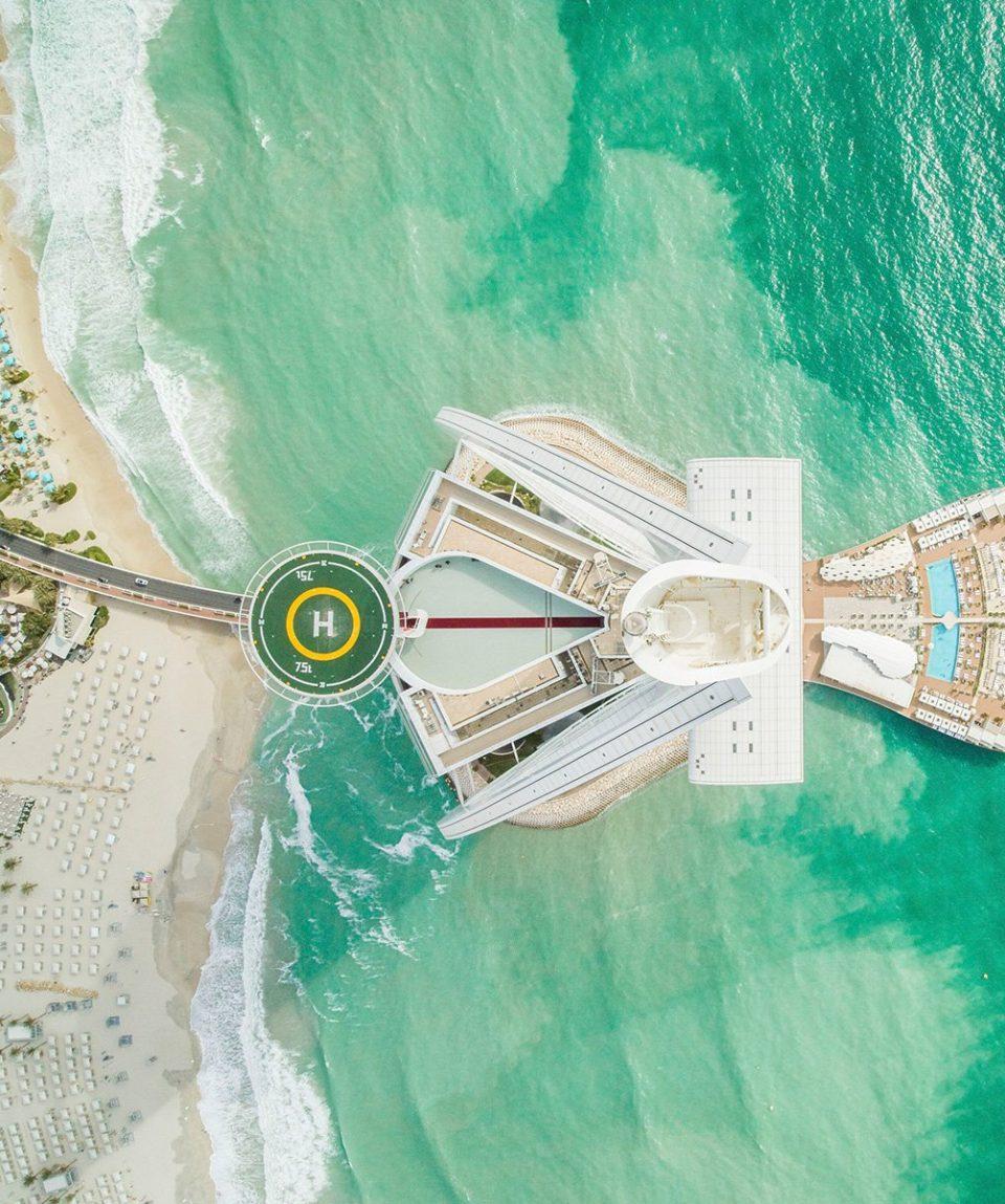 High_resolution_300dpi-Burj Al Arab Jumeirah - Aerial - Drone
