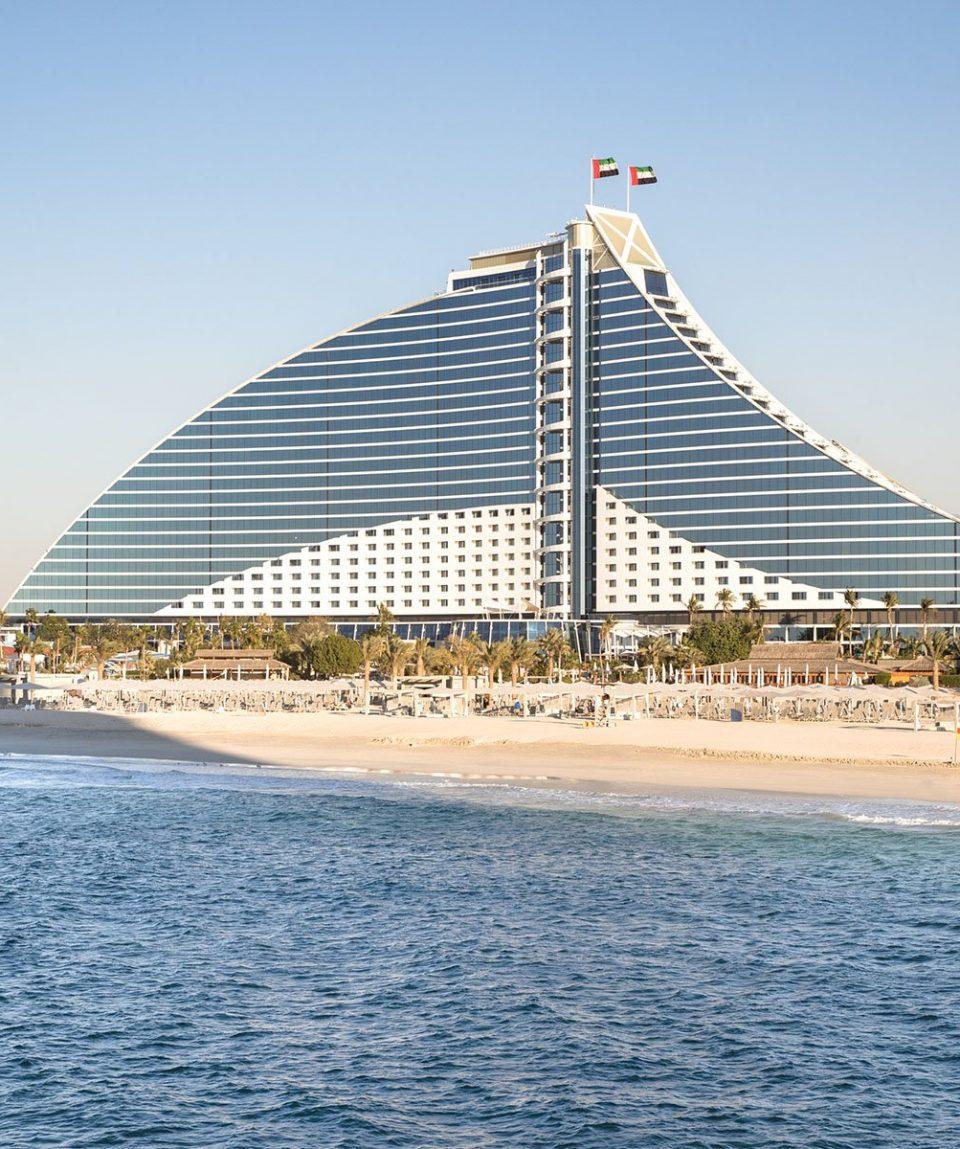 Jumeirah Beach Hotel - Exterior Sunset