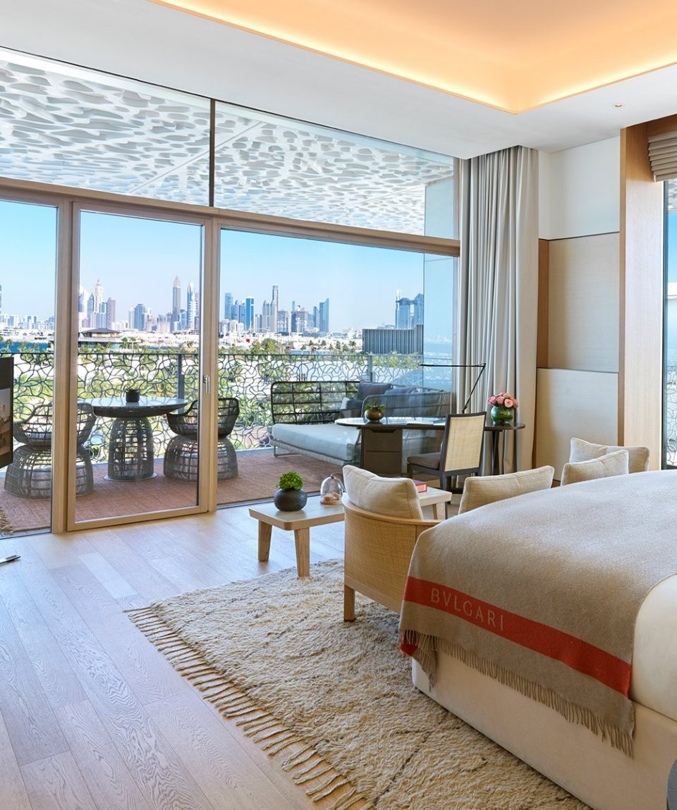 The Bvlgari Resort Dubai _ Deluxe Beach View Room