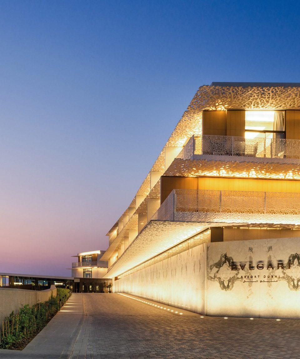 The Bvlgari Resort Dubai _ Entrance