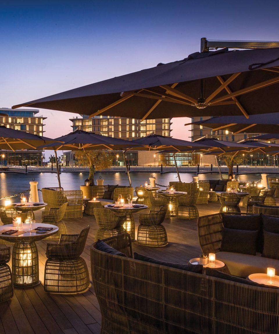 The Bvlgari Resort Dubai _ Il Café - Terrace by Sunset 2
