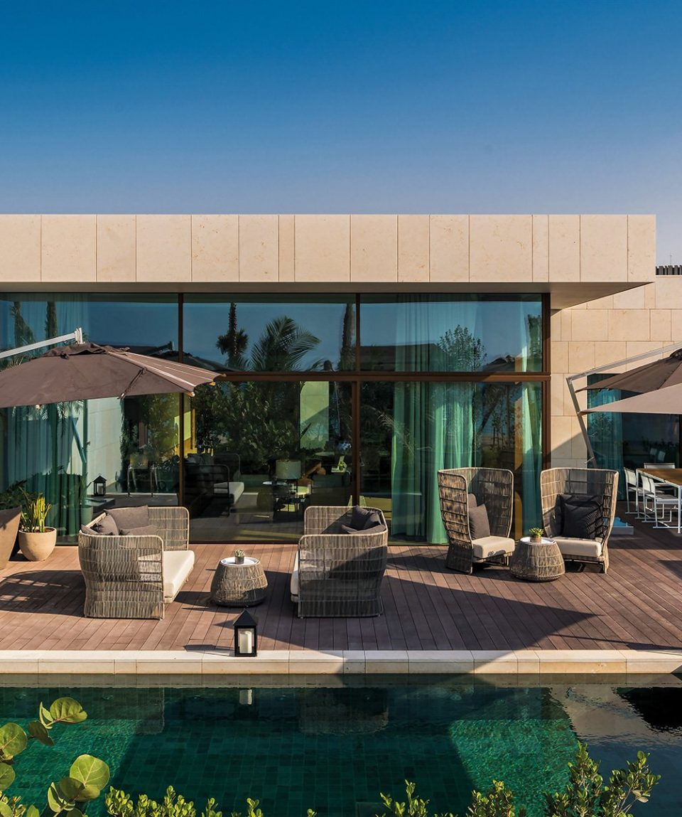 The Bvlgari Resort Dubai _ One Bedroom Beach Villa - Garden